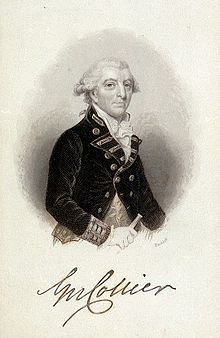 George Collier of the British Royal Navy