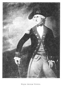 Anselm Tupper – Continental Army Officer – Massachusetts