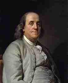 Benjamin Franklin – Continental Congressman – Pennsylvania