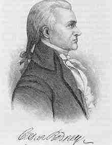 Caesar Rodney – Continental Congressman – Delaware