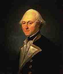 James King of the British Royal Navy