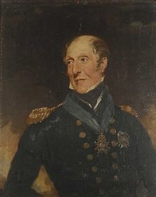 Charles Cunningham of the British Royal Navy