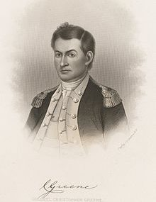 Christopher Greene – Continental Army Officer – Rhode Island