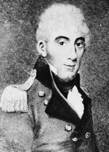 David Collins of the British Royal Navy