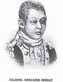 Ebenezer Sproat – Continental Army Officer – Massachusetts