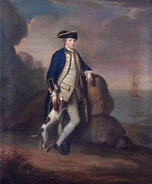 Edward Pakenham, 2nd Baron Longford of the British Royal Navy