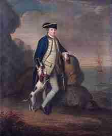 Edward Pakenham, 2nd Baron Longford of the British Royal Navy
