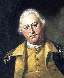 Benjamin Lincoln – Continental Army Officer – Massachusetts