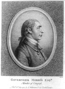 Gouverneur Morris – Continental Congressman – New York