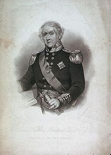 James Hawkins-Whitshed of the British Royal Navy