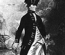 Hyde Parker of the British Royal Navy