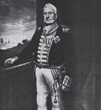 Israel Pellew of the British Royal Navy