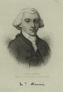 John Harvie – Continental Congressman – Virginia