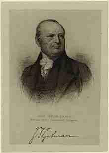 John Taylor Gilman – Continental Congressman – New Hampshire