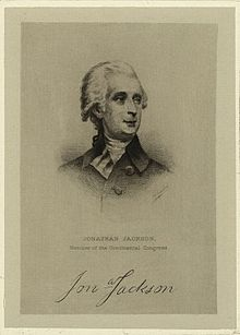 Jonathan Jackson – Continental Congressman – Massachusetts