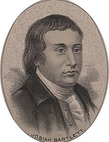 Josiah Bartlett – Continental Congressman – New Hampshire