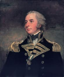 Lord Hugh Seymour of the British Royal Navy
