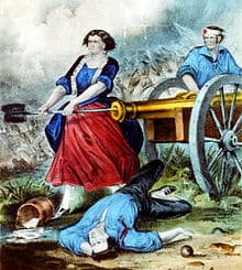 Molly Pitcher – Women in the American Revolution