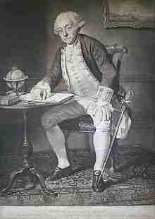 Philip Affleck of the British Royal Navy
