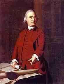 Samuel Adams – Continental Congressman – Massachusetts