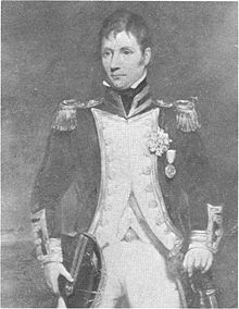 Eliab Harvey of the British Royal Navy
