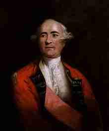 Frederick Haldimand – British Military Personnel