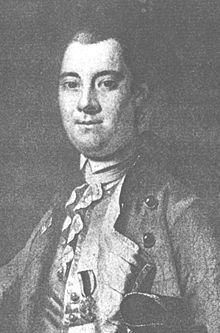 William Tryon – British Military Personnel