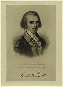 Uriah Forrest – Continental Army Officer – Maryland