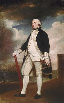 George Darby of the British Royal Navy