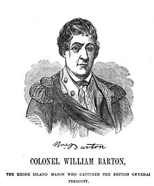 William Barton – Continental Army Officer – Rhode Island