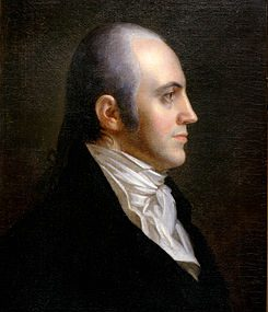 Aaron Burr – Continental Army Officer – New Jersey