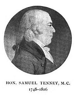Samuel Tenney – Continental Army Officer – New Hampshire
