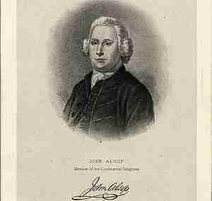 John Alsop – Member of the New York Provincial Congress