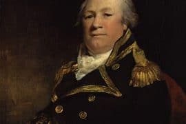 John Schank of the British Royal Navy