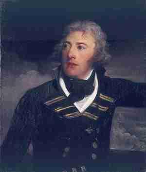 Joseph Sydney Yorke of the British Royal Navy