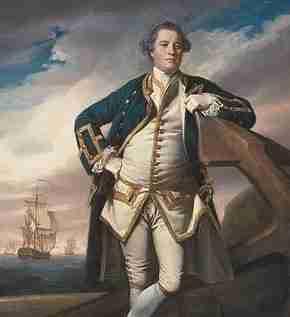 Philemon Pownoll of the British Royal Navy