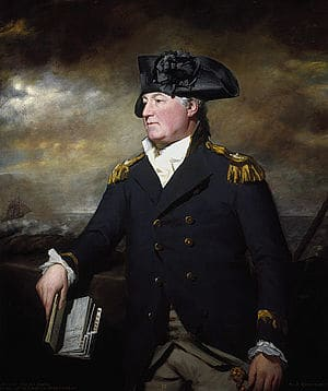 Charles Inglis of the British Royal Navy