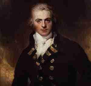 Graham Moore of the British Royal Navy