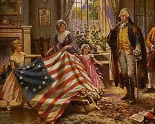 Betsy Ross – Women in the American Revolution
