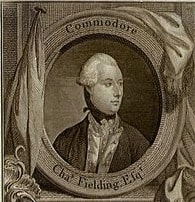 Charles Fielding of the British Royal Navy