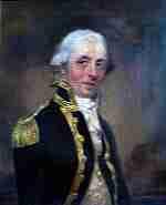 Charles John Moore Mansfield of the British Royal Navy