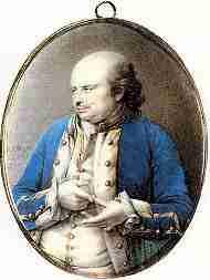 George Johnstone of the British Royal Navy