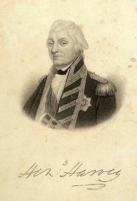 Henry Harvey of the British Royal Navy
