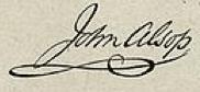 John Alsop Signature