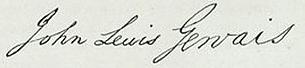 John Lewis Gervais Signature