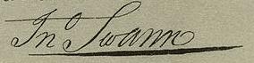 John Swann Signature