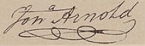 Jonathan Arnold Signature