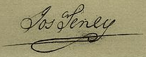 Joshua Seney Signature