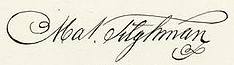 Matthew Tilghman Signature