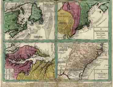 Map - 1759 – Dominia Anglorum in America Septentrionali